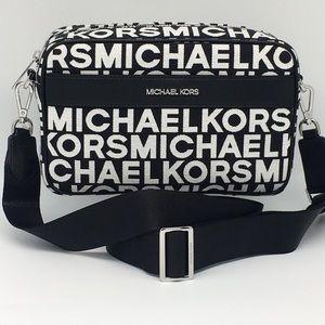 MICHAEL KORS KENLY LG POCKET XBODY BLACK MULTI